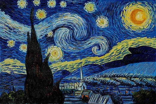 Van Gogh - Nata e yjeve qe ndrisin
