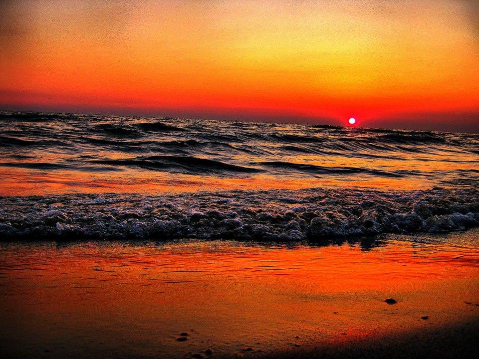 Perëndim mbi detë