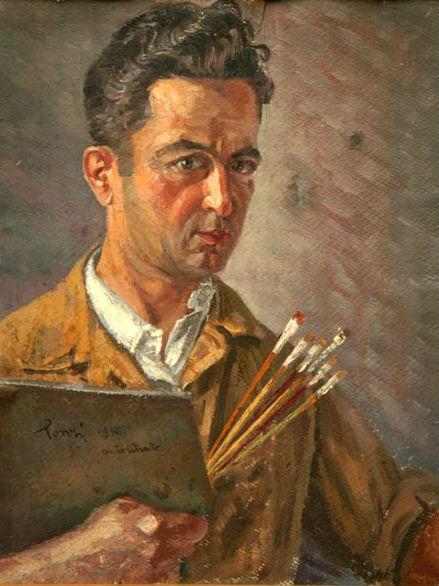 Autoportret Ettore Ponzi (1908-1992)