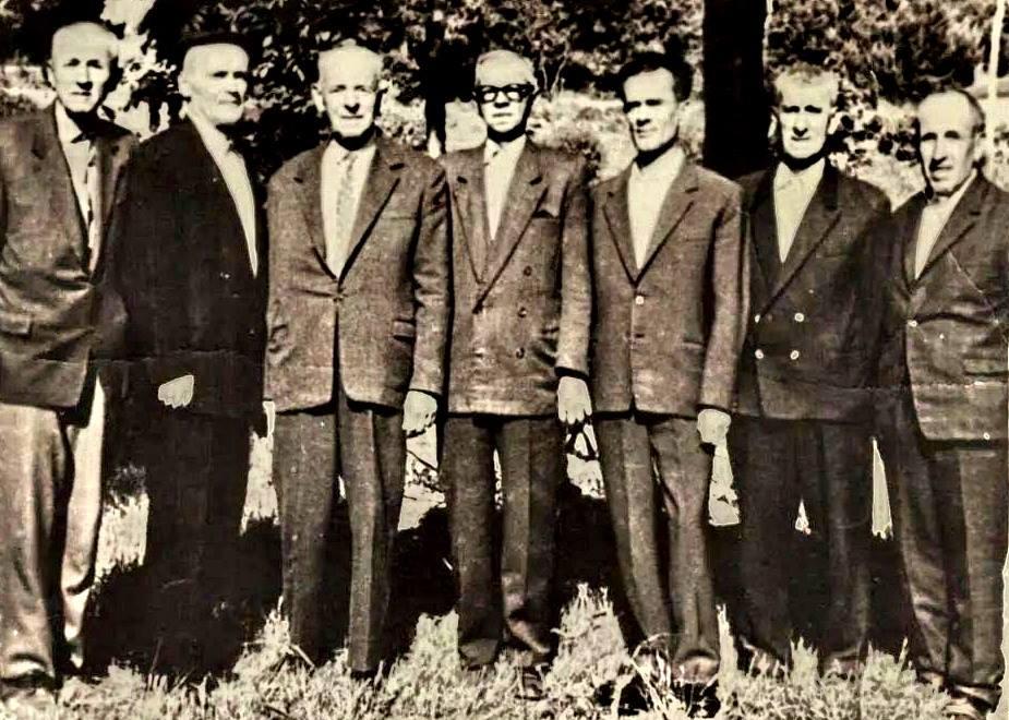 M.Peshtani, S.Bejko, F.Haxhialiu, T.Shehu, Vexhi Buharaja, S.Ago, M.Dervishi
