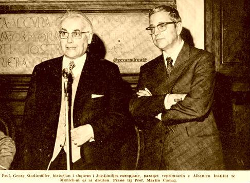 Dr. Martin Camaj & Prof. Georg Stadmuller