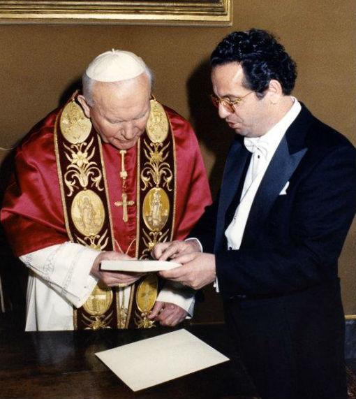 Papa Gjon Pali i II dhe Pjeter Pepa