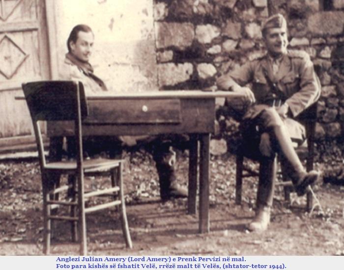 Prenk Pervizi & Julian Amery