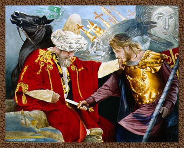 Milosh Obiliq dhe Sulltan Murati i I