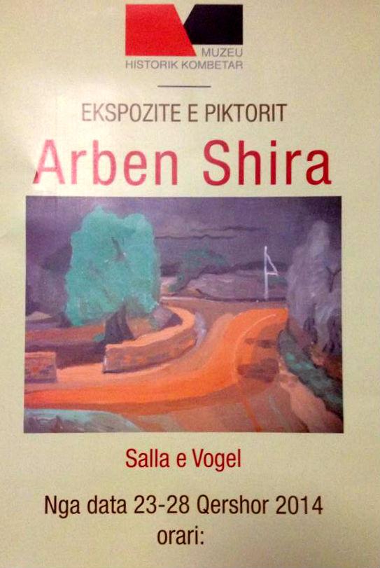 Arben Shira - Ekspozita 2014