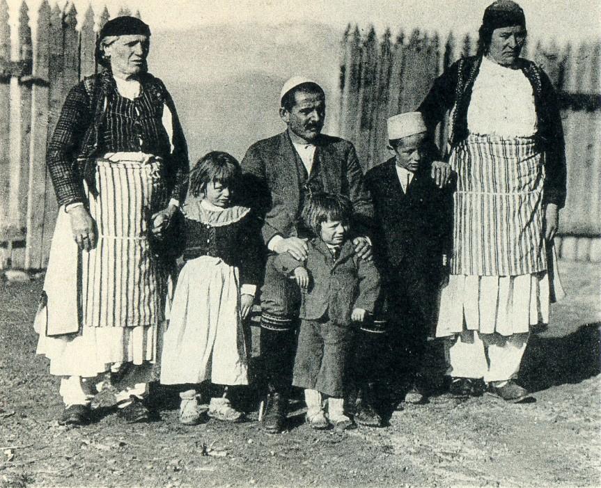 Carleton Stevens Coon - Familja Markagjoni (csc035)