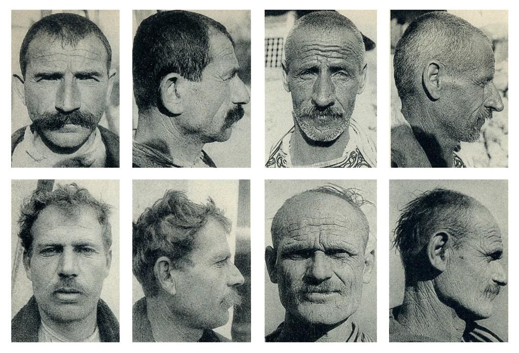 Carleton Coon - Fytyra dhe Profile gegësh - (csc039)