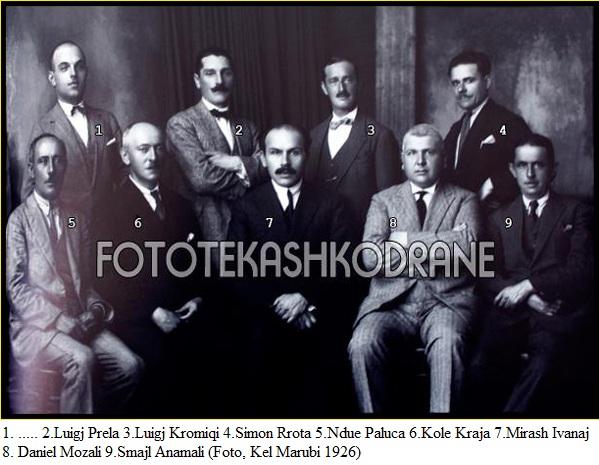 Mësuesit e Gjimnazit të Shkodrës