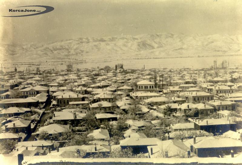 Korça në dimër 1929