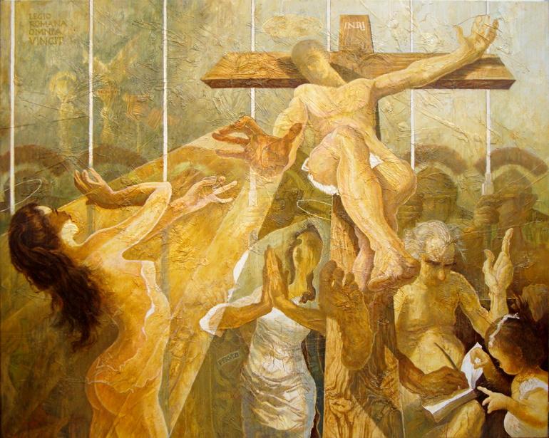 Piktori Leonard Pervizi INRI