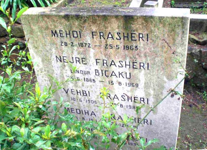 Varri i Familjes Fraashëri në Romë