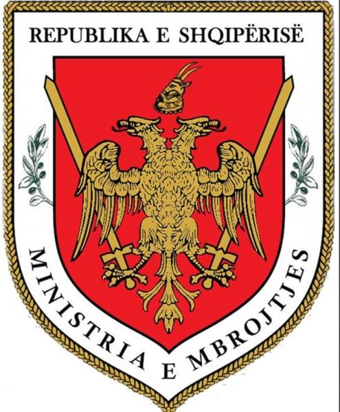 Stema e Ministrisë së Mbrojtjes-logo