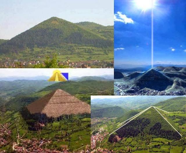 Piramida Diell ne Bosnje