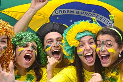 Tifozë brazilianë