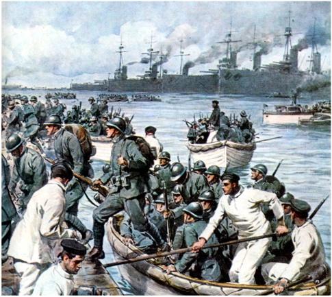 Zbarkimi italian në Korfuz  (shtator 1923)
