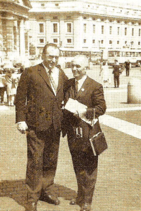 Isa Ndreu & Adem Hodo - Rome 1968
