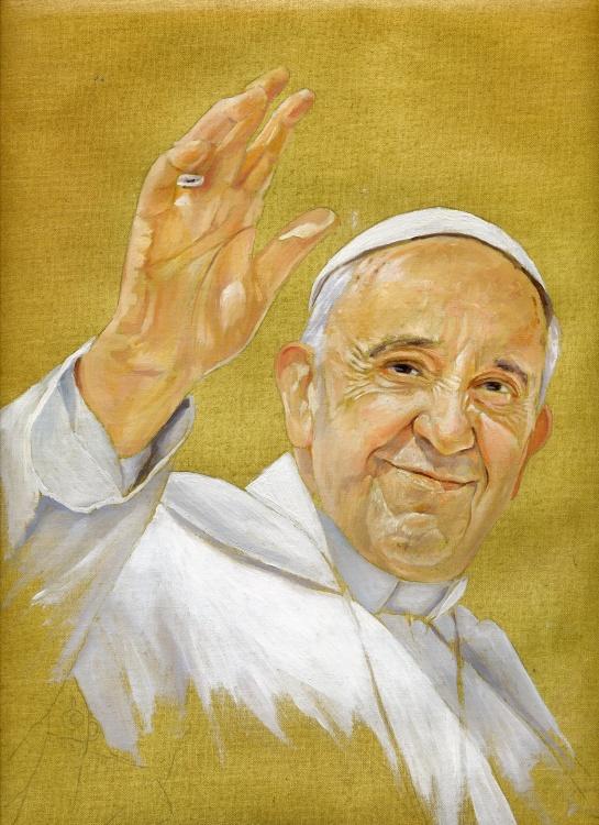 Papa Francesku (pikture)