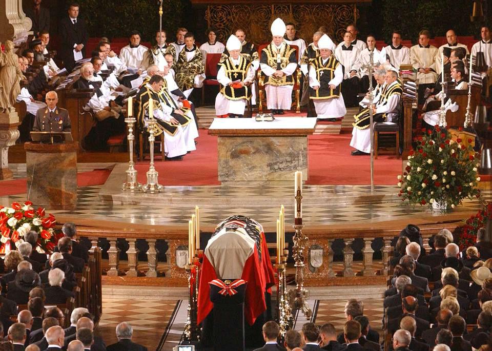 Ceremonia e Vdekjes së Presidentit Austriak Klestil