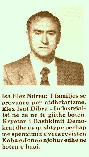 Isa Ndreu (1919-2010)