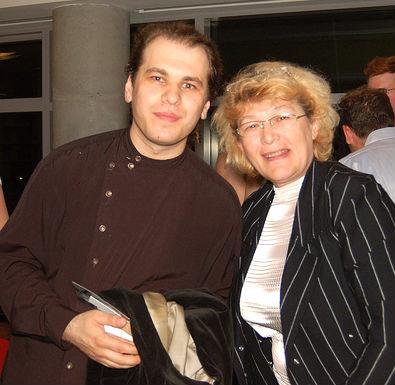 Justiana Aliaj dhe i biri