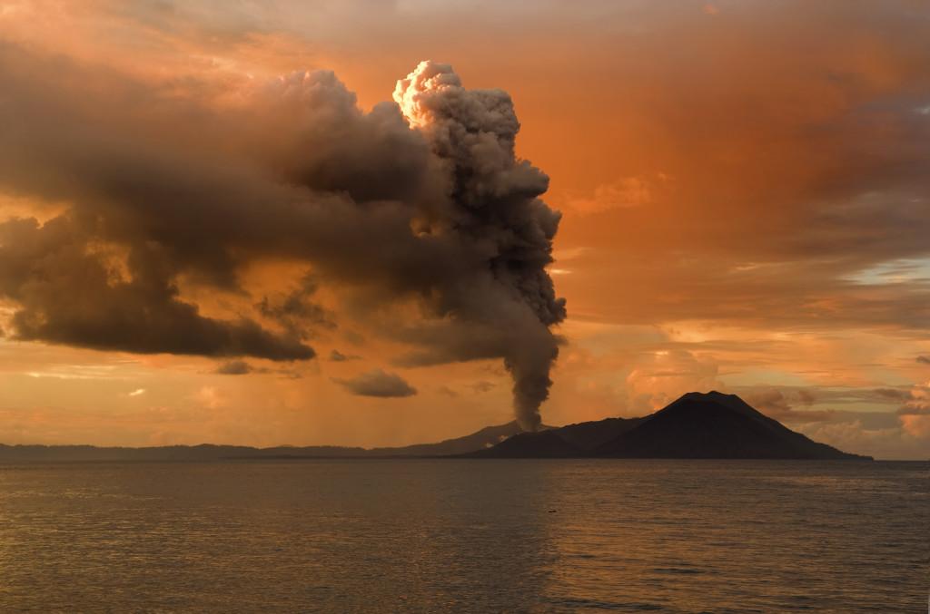 Vullkani Tavurvur