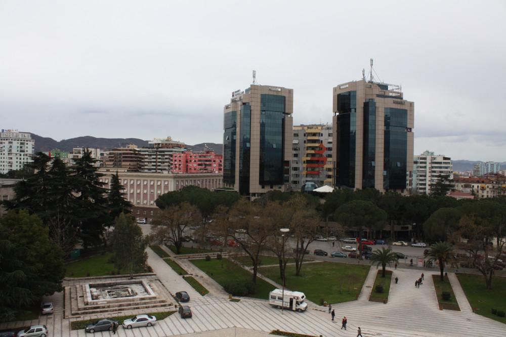 Tirana e ditëve të sotme...