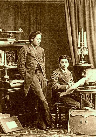 Vlleznit Chekov: Anton e Nikollai 1882