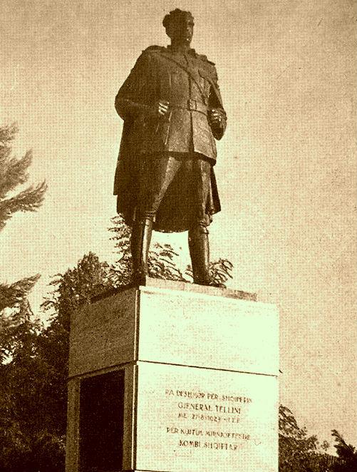 Monumenti i Gjeneral Tellinit - Tiranë