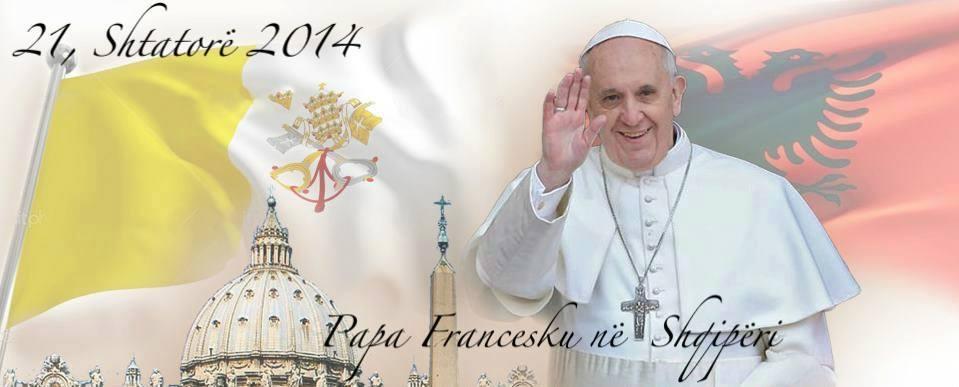 Papa Françesku:  Mirësevini në trojet tona arbënore