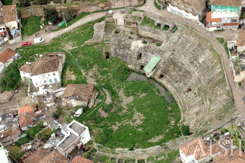 Amfiteatri antik Durrës (foto g.kabashi)