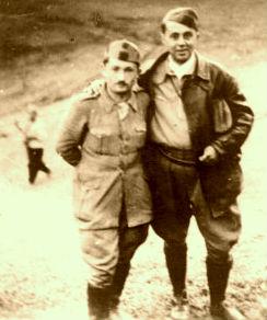 Gjin Marku  dhe Enver Hoxha