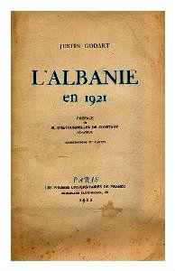 Justin Godart - L'A'lbanie 1921
