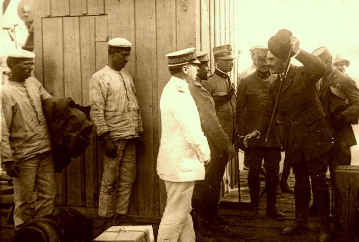 Justin Godart - Sarandë 1917