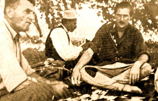 Major Abaz Kupi dhe Maclean