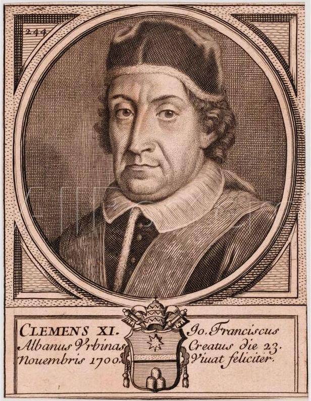 Papa Klementi XI - Giovanni Francesco Albani