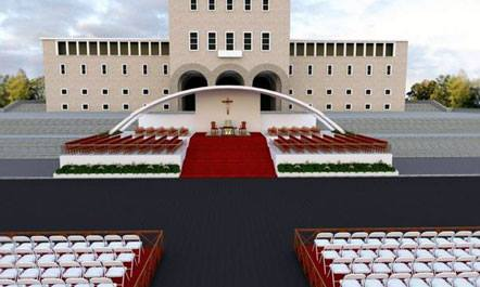 Projekti i pritjes Papale 2014