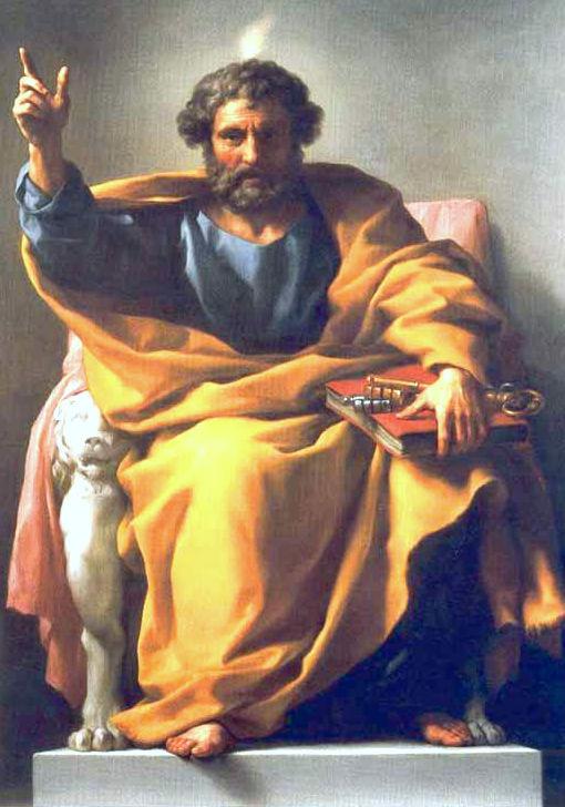 Shën Pjetri - Anton Raphael Mengs - Hermitazh