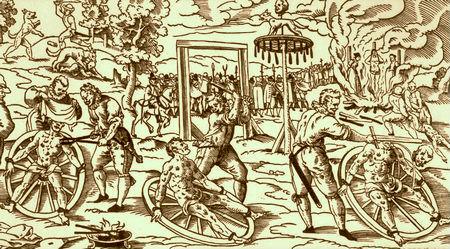 Tortura e rrotës në Mesjetë