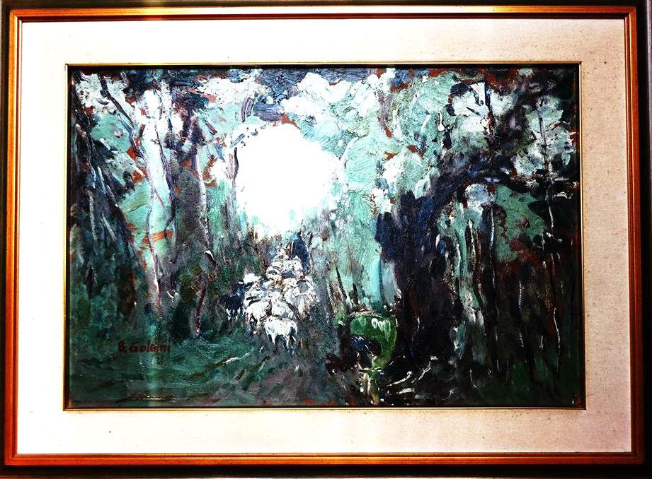 Besim Golemi - Në Pyll (Pronësi e Sh.Sollakut)