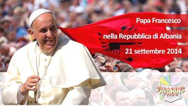 Papa Françesku i Parë - Tiranë, 21 shtator 20142014
