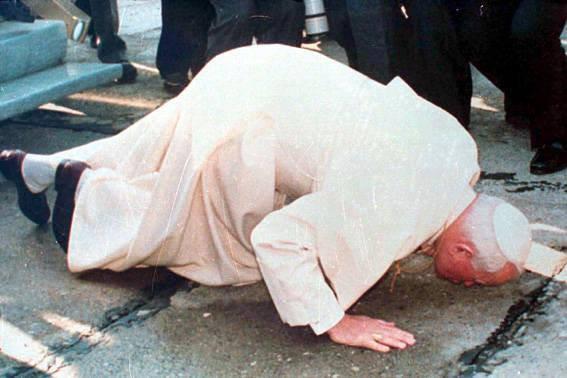 Papa Gjon Pali i II - Tirane 25.pril '93