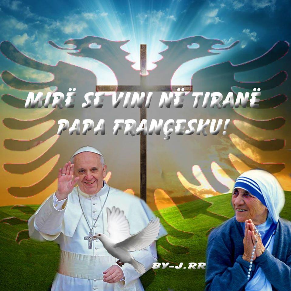 Papa Francesku në Tiranë