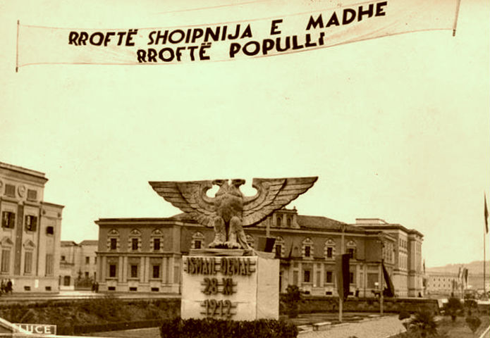 Qendra e Tiranes 1942
