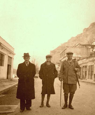 Ali Këlcyra - Mit'hat Frashëri - Thoma Orollogaj - Berat 1942