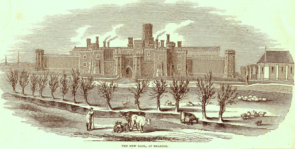 Burgu Reading (skice 1844)