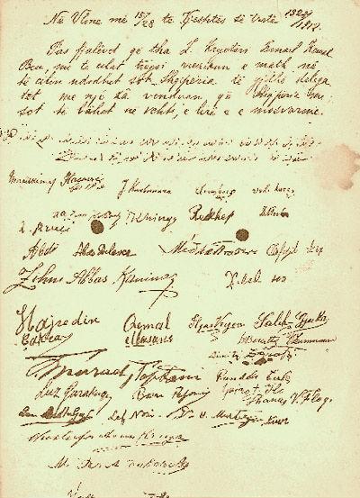 Deklarata e Pavarsisë 1912