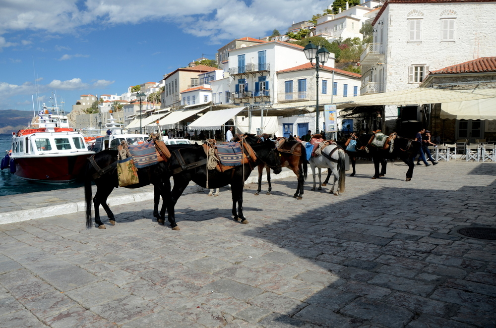 Pamje nga Hydra - Greqi
