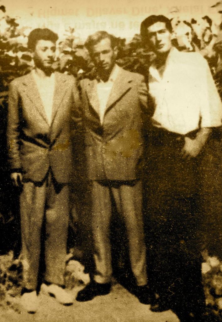 Kushërinjtë Sazan, Tomorr dhe Dine Dine (Savër 1954)