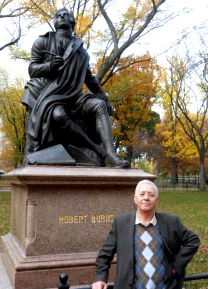 Dine Dine Te statuja e Robert Bernsit