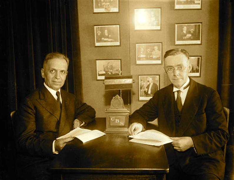 Faik Konica me C.E. McGuire 1931